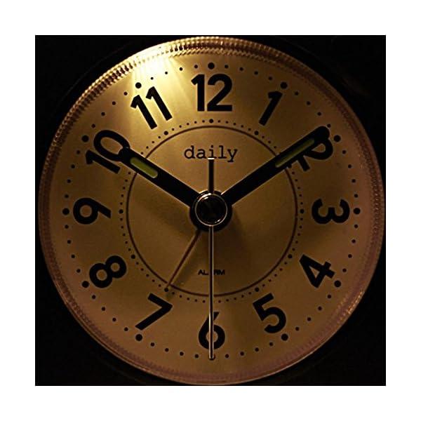 daily(リズム時計) コンパクトでポップな...の紹介画像2