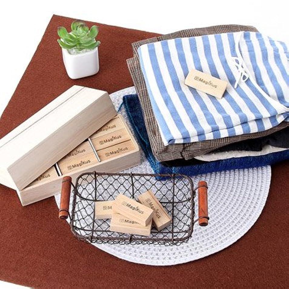 激怒精緻化手つかずのたんすの衣類を虫からブロック マジックスブロックでブロック18個組 木箱入