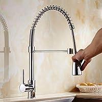 キッチン蛇口 電気めっきの台所の蛇口冷熱ヨーロッパ式モララ蛇口