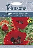 JOFL 英国ジョンソンシード Poppy (Papaver) Oriental Dwarf Allegro ポピー・オリエンタル・ドワーフ・アレグロ