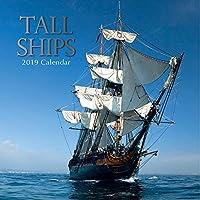 2019背の高い船 - 12 x 12壁掛けカレンダー