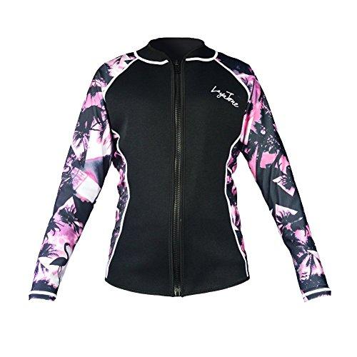 [해외]잠수복 꼭지 2mm 프론트 지퍼 자켓 남녀 겸용 블루   핑크   블랙/Wetsuit Tapper 2mm Front zipper jacket man woman`s Blue   Pink   Black