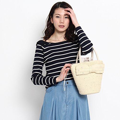 (クチュールブローチ) Couture Brooch 【WEB限定・80%OFF】フリル衿幅広リブニット 50812352 38(M) ブルー系(395)