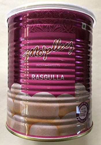 Haldiram's RASGULLA Moplleez 1kg 3缶 スイーツ デザート ラスグッラ
