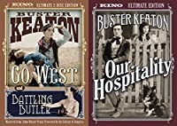 Buster Keaton Ultimate Collection - Our Hospitality (Ultimate Edition) & Go West and Battling Butler (Ultimate 2-Disc Edition) 3-DVD Bundle [並行輸入品]