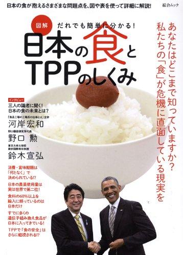 図解 だれでも簡単にわかる! 日本の食とTPPのしくみ (綜合ムック)
