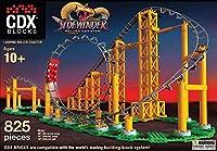 ●Cdx Blocks社 Sidewinder-LEGO互換 ルーピングローラーコースター 800ピース/The Sidewinder - LEGO® Compatible Looping Roller Coaster【USAメーカー直輸入品】