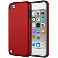 iPod Touch 6 ケース - ATiC Apple iPod touch 第6世代 /iPod Touch 第5世代 用PC+TPU製 組み立て式保護ケース RED