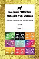 Bloodhound 20 Milestone Challenges: Tricks & Training Bloodhound Milestones for Tricks, Socialization, Agility & Training Volume 1