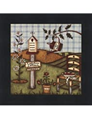 てんとう虫Cottage by Robin Betterly – 5 x 5インチ – アートプリントポスター LE_416274-F101-5x5
