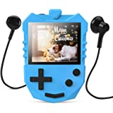 AGPTEK MP3 Player for Kids, K1 Portable 8GB Children Music Player with Built-in Speaker, FM Radio, Voice Recorder, Expandable