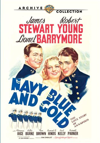 NAVY BLUE & GOLD (1937)