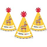 Let 's Fiesta – Mini円錐Mexican Fiesta Party Hats – Small Little Party Hats – 10のセット