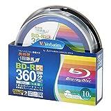 三菱ケミカルメディア Verbatim 1回録画用 BD-R DL VBR260YP10SV2 (片面2層/1-4倍速/10枚)