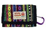 ROUGH ENOUGH M 民俗古典的なカジュアルな面白いミニ キャンバス財布