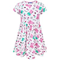 Peppa Pig Girl's Short Sleeved Dress 1 to 6 Years