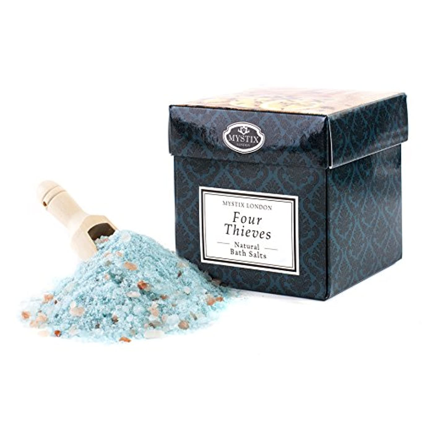 予約パッチ理想的Mystix London | Four Thieves Bath Salt - 350g