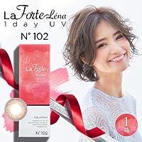 LaFORTE Lena 1day UV (ラフォルテ レナ ワンデーUV) 30枚入 1箱 【カラー】:No.102 ミスティローズ 【DIA(直径)】:14.2mm 【BC(ベースカーブ)】:8.7 【PWR(度数)】:-3.25
