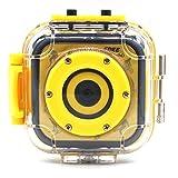 LANCERTECH キッズカメラ DV [日本語取扱説明書付き] 子供用デジタルビデオカメラ 撮影/録画可能 20M防水ハウジング スポーツカメラ 1.77インチ液晶搭載 5MP オート セルフタイマー LT-GM05