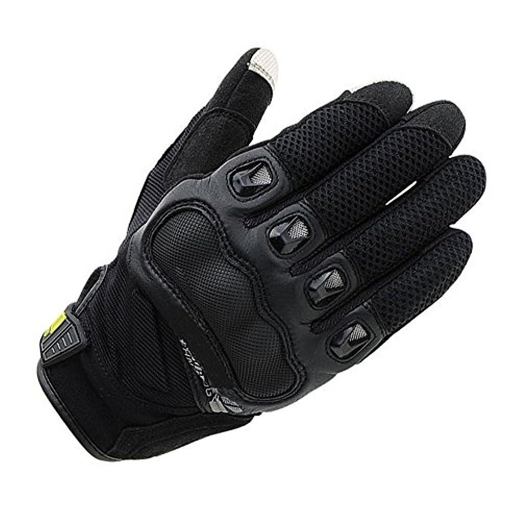 クレタブラケットアクセサリー快適 タッチスクリーン保護オートバイの手袋サイクリングマウンテンバイク男性の女性の手袋 (色 : ブラック, サイズ : L)