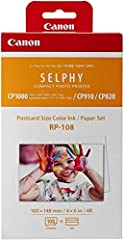 Canon RP-108 Selphy Compact Photo Paper