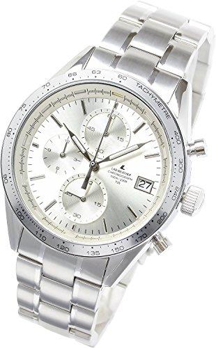[ラドウェザー]腕時計 スイス製トリチウム レーシング・クロノグラフ 100m防水 多針アナログ 夜光インデックス タキメーター 時計