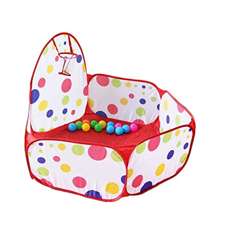 RAIFU ポータブル ボールプール おもしろい ボールピットプール 遊び テント 赤ちゃん キッズ 子供 屋内 屋外ゲーム おもちゃ(テントとボールは別売)
