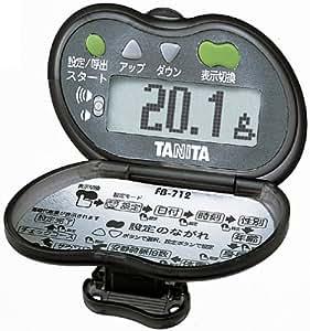 タニタ(TANITA) ピッチウォーク ブラック FB-712-BK