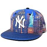 (ニューエラ) NEWERA KID'S 59FIFTY ベースボールキャップ シティランドスケープ ナイト 自由の女神 NY ニューヨーク・ヤンキース 子供用 ジュニアサイズ マルチカラー 6-3/8