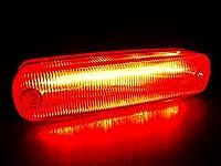 【LED 車高灯】新感覚!LED4車高灯 NEO 3D 24V(レッド)
