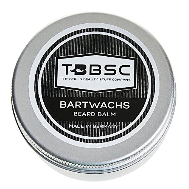 TBBSCビアードワックス60gドイツ製ケア+スタイリングのためのひげバーム