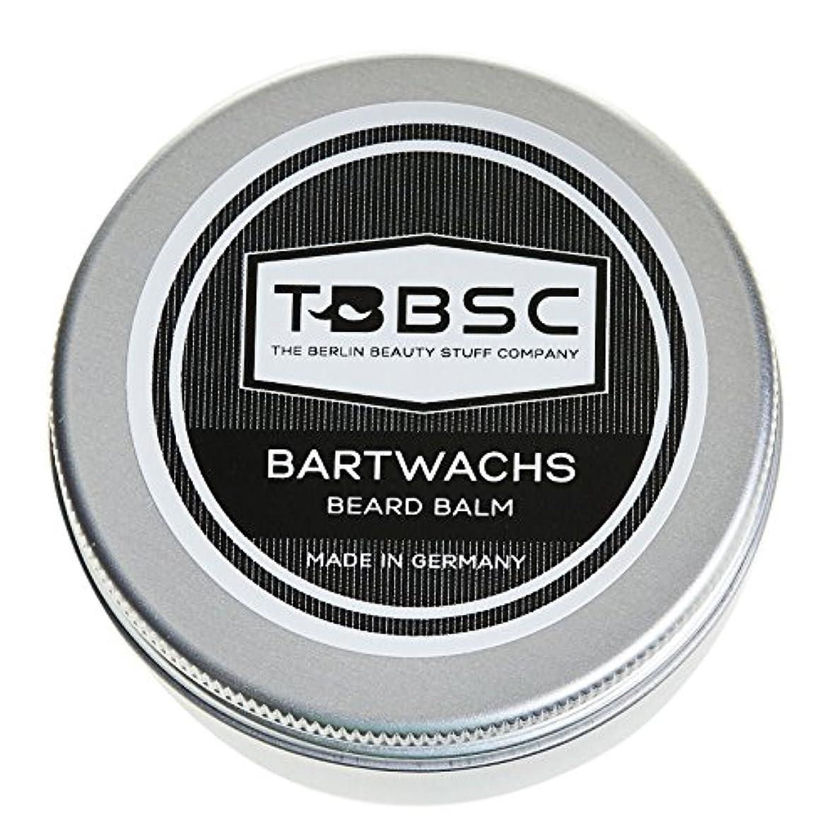 感謝永久わずかなTBBSCビアードワックス60gドイツ製ケア+スタイリングのためのひげバーム
