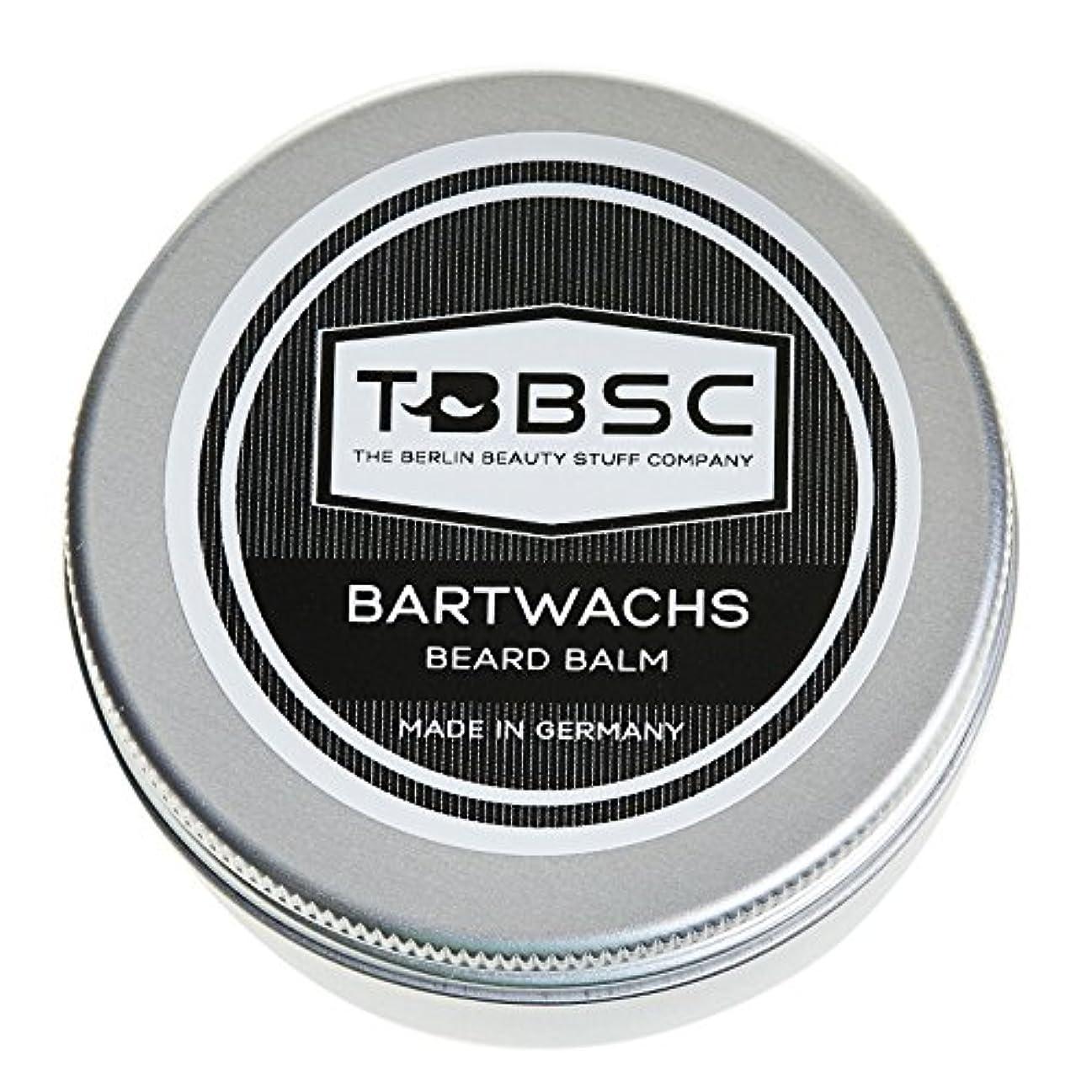 味わう所得二度TBBSCビアードワックス60gドイツ製ケア+スタイリングのためのひげバーム