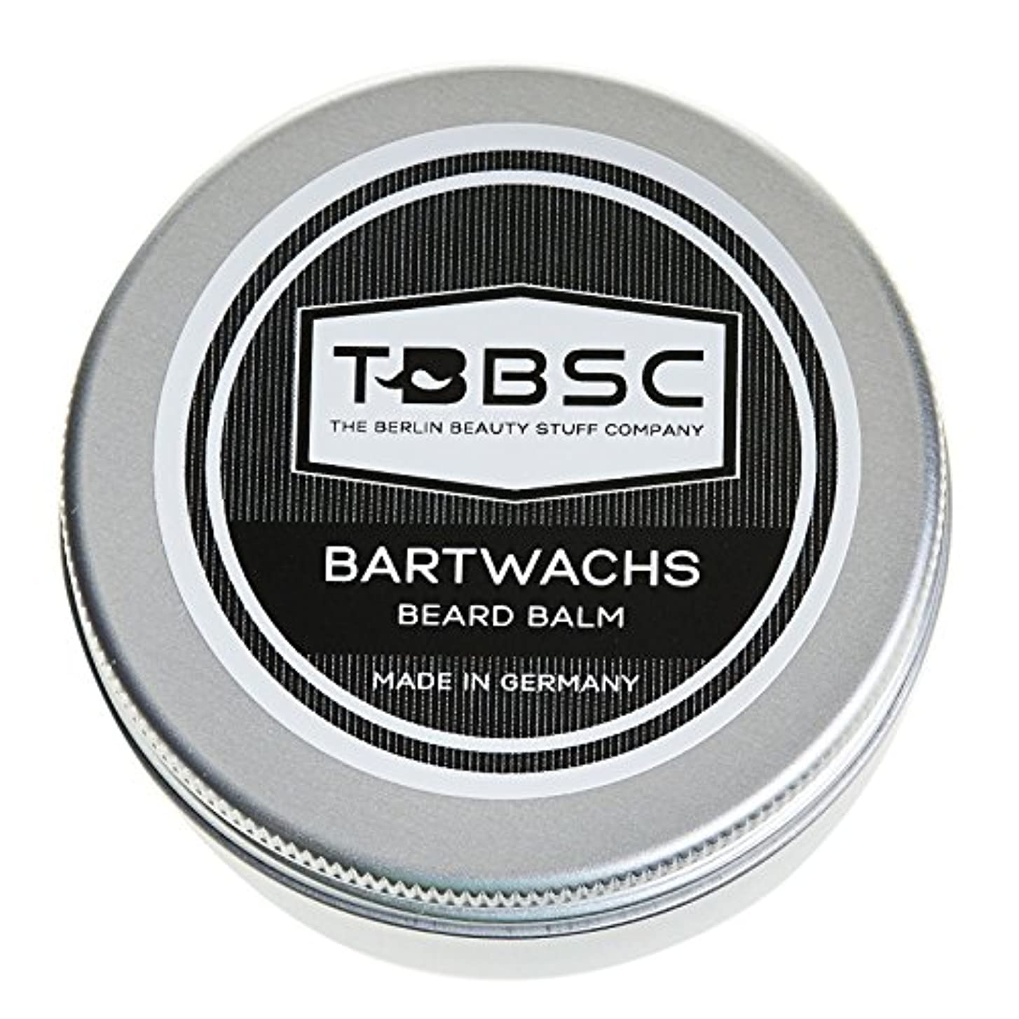 超音速ブラウズ偽装するTBBSCビアードワックス60gドイツ製ケア+スタイリングのためのひげバーム
