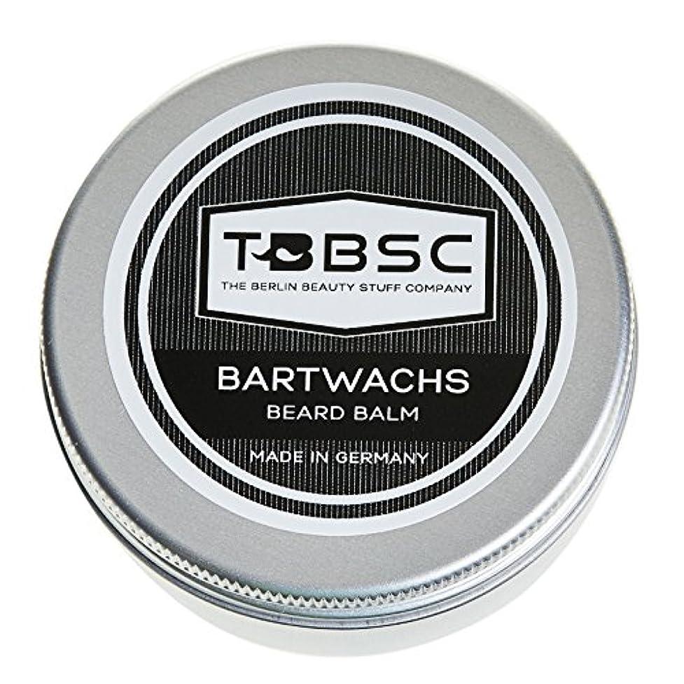 発症報いる出版TBBSCビアードワックス60gドイツ製ケア+スタイリングのためのひげバーム