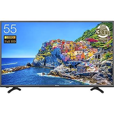 ハイセンス 55V型 HJ55K3120 フルハイビジョン 液晶 テレビ 外付けHDD録画対応(裏番組録画)
