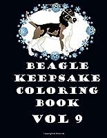 Beagle Keepsake Coloring Book Vol 9 [並行輸入品]