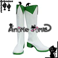 ●●サイズ選択可●●男性26.5CM MJR1623 コスプレ靴 ブーツ VOCALOID めぐっぽいど グミ GUMI