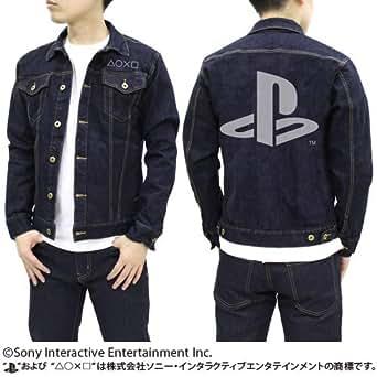 """プレイステーション ジージャン """"PlayStation"""" インディゴ Lサイズ"""