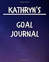 Kathryn's Goal Journal: 2020 New Year Planner Goal Journal Gift for Kathryn  / Notebook / Diary / Unique Greeting Card Alternative