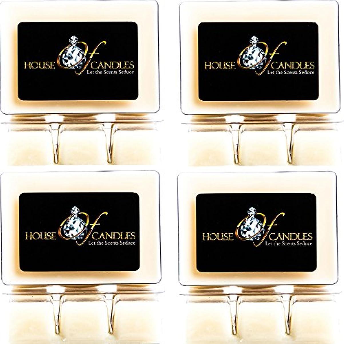 ポップ世界の窓勃起Cappuccino Scented Candle Melts x 4 Clam Packs