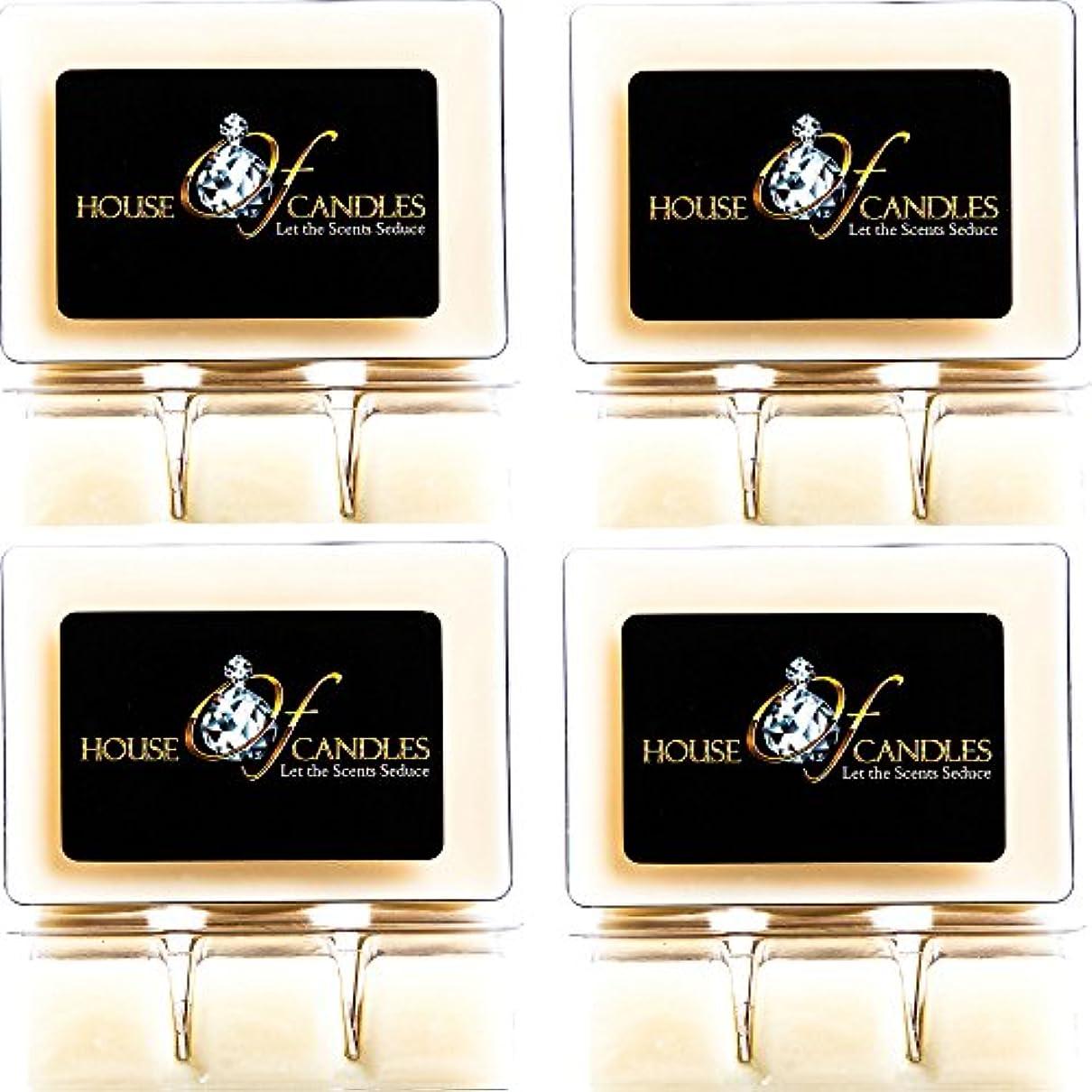 確執粒芸術Cappuccino Scented Candle Melts x 4 Clam Packs