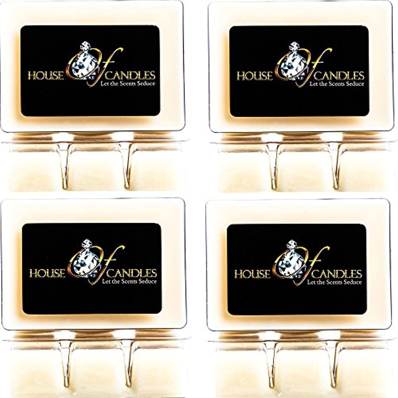 一般的に言えば後退する入り口Cappuccino Scented Candle Melts x 4 Clam Packs