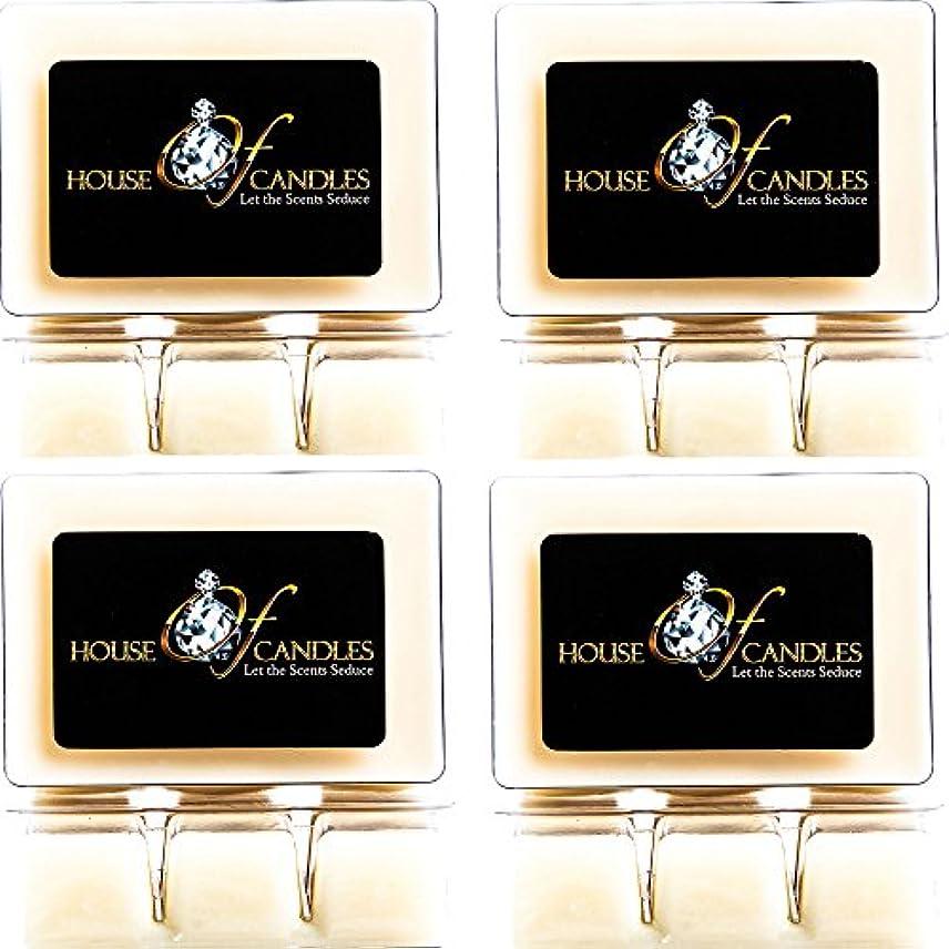 デモンストレーション結婚する緯度Cappuccino Scented Candle Melts x 4 Clam Packs