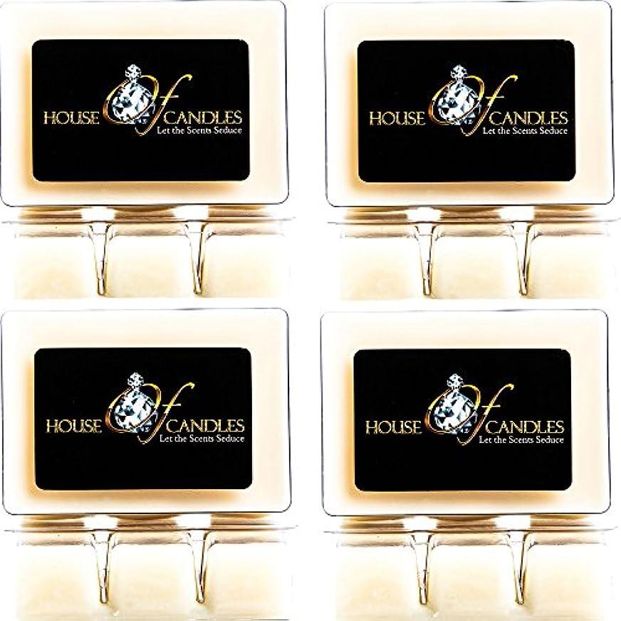 ラメ以来メドレーCappuccino Scented Candle Melts x 4 Clam Packs