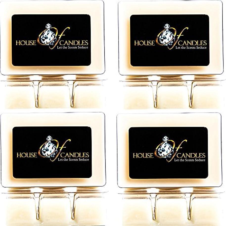 妨げるランデブー子供時代Cappuccino Scented Candle Melts x 4 Clam Packs