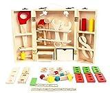 Hostar® 子どもに人気な大工さんセット 木のおもちゃ 幼児 キッズ 組み立て 知育 おもちゃ 3歳から 知育玩具