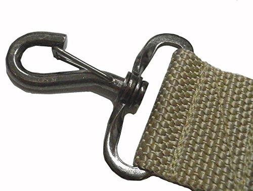 ウエストポイント MIL-903 ノンパッドショルダーストラップ (カバン用ショルダーストラップ) ブラック 38mm