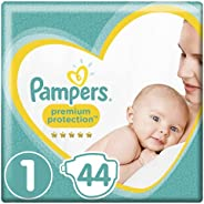Pampers New Baby Size 1, 44 Nappies, 2-5kg