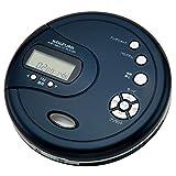 ポータブルCDプレーヤー ブルー SAD-3902/A 小泉成器 コイズミ SAD3902